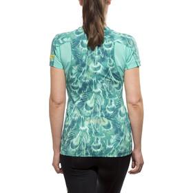 GORE RUNNING WEAR AIR PRINT Shirt Lady turquoise